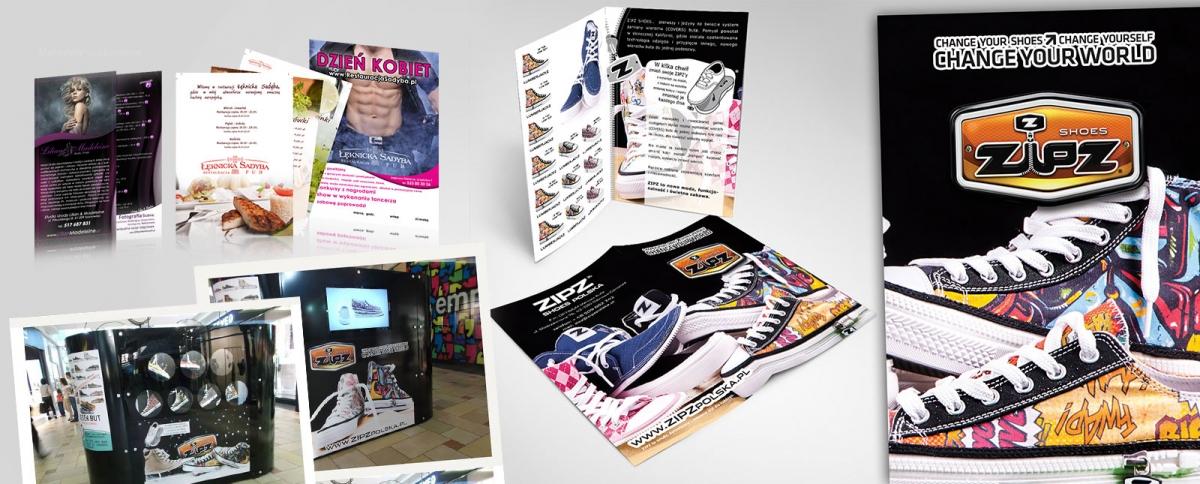 Reklama drukowana - poligrafia