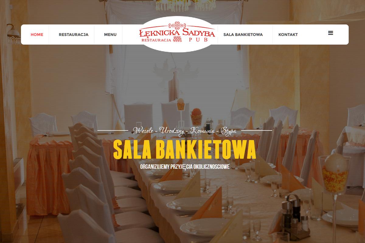 Restauracja Łęknicka Sadyba w Dąbrowie Górncizej