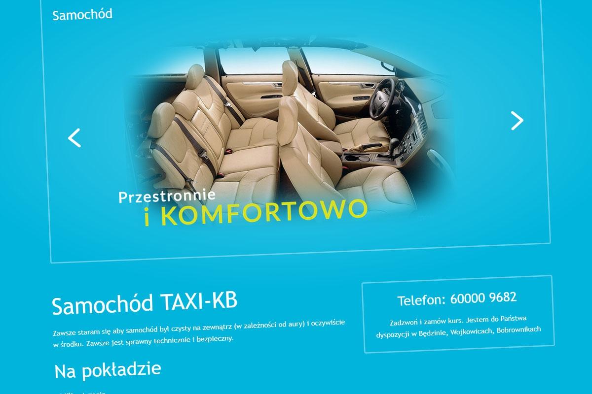 TAXI-KB - Taxi Wojkowice, Będzin, Bobrowniki