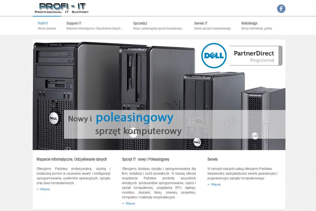 PROFI-IT Wsparcie IT, Sprzedaż sprzętu komputerowego